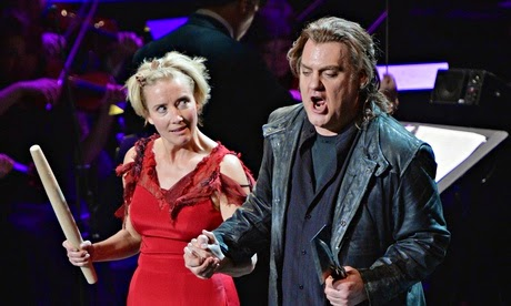 Emma Thompson and Bryn Terfel in SWEENEY TODD: THE DEMON