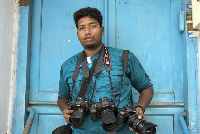 fotografo de la india