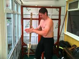 Martial arts grip and hand strength training