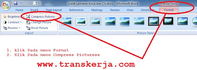 Compress File Gambar Di Microsoft Office Word - www.transkerja.com