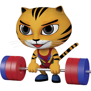 Icon Pictogram SEA Games 2017 Weighlifting