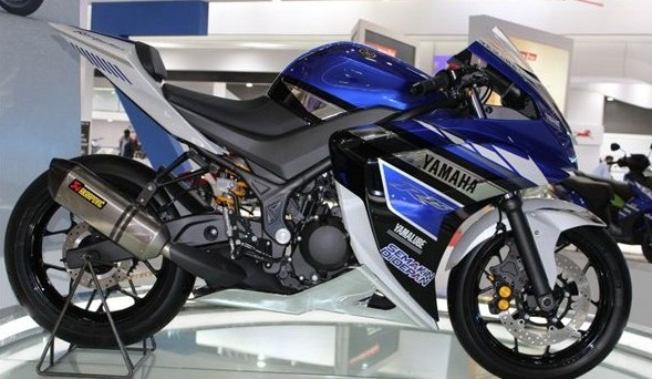Yamaha R25 Modifikasi Motogp top