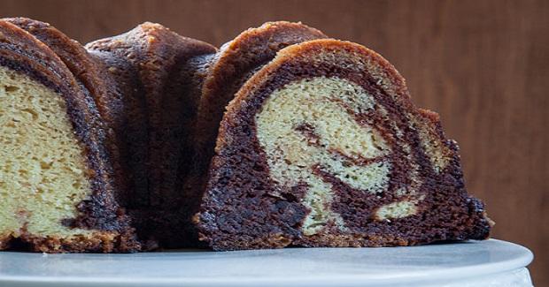 Marble Rum Cake Recipe