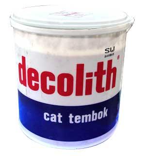 Harga Cat Decolith