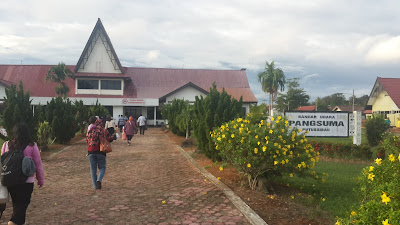 Bandara mini di Putusibau