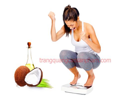 Hướng dẫn cách giảm cân bằng dầu dừa vô cùng tuyệt vời