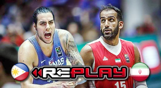 Video Playlist: Team Pilipinas vs Iran game replay 2019 FIBA World Cup Qualifiers Asia