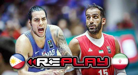 Video Playlist: Team Pilipinas vs Iran game replay 2019 FIBA World Cup Qualifiers Asia