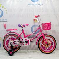 16 pink morison sepeda anak