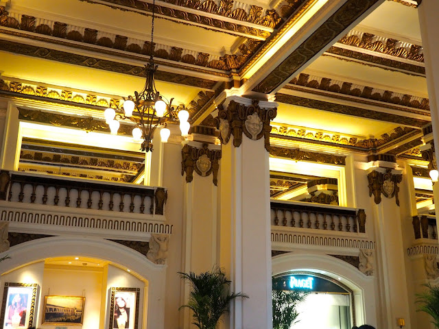 Ornamental decoration of The Lobby in The Peninsula, Hong Kong
