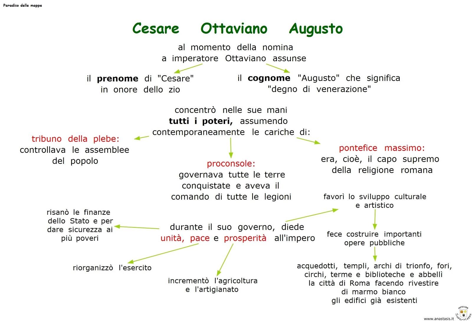 Conosciuto Paradiso delle mappe: Cesare Ottaviano Augusto AA03