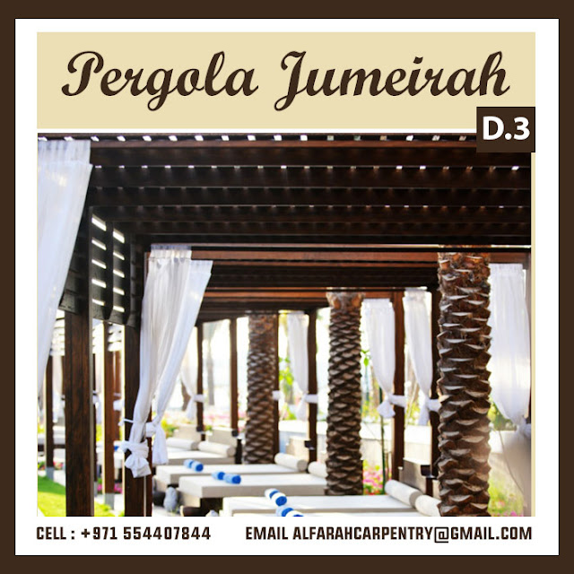 Jumeirah Lake Tower Dubai Pergola