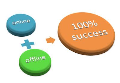 Sự kết hợp giữa kinh doanh Online và kinh doanh Offline sẽ tạo nên thành công