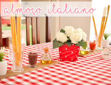 almoço italiano de aniversário