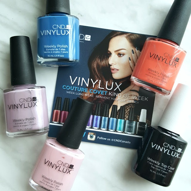 CND Vinylux, CND Rescue Kit, CND Desert Poppy, CND Date night, CND Lavender Lace, CND Be Demure, CND RescueRX, CND Koala Buffer, CND Cuticle Eraser, CND Solar Oil, Canadian Beauty Blog, Canadian Beauty Blogger, Toronto Blogger, Beauty Blog.