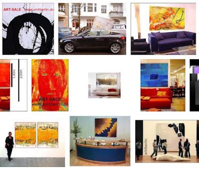Moderne Kunst für Zuhause. Wohnen mit großer Kunst.