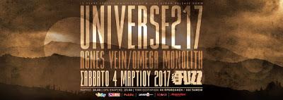 Universe217, Agnes Vein, Omega Monolith @ Fuzz