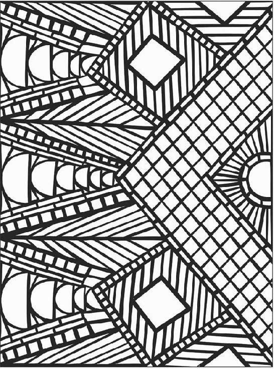 mosaic coloring pages free printable - mosaic coloring sheets free coloring sheet