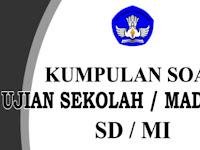 Download Kumpulan Soal Latihan Ujian Sekolah UASBN SD/MI Terbaru