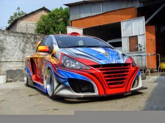 Modifikasi mobil di indonesia