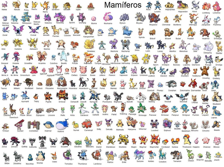 Los Juegos De Pokemon Hola Amigos Esta Vez Le Traigo Todos Los Juegos