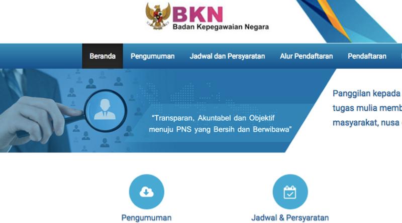 Cara Mendaftar CPNS Online Kemenkumham 2018 di sscn.bkn.go.id