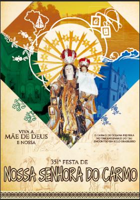 Festa do Carmo: Hoje tem transmissão ao vivo da Santa Missa