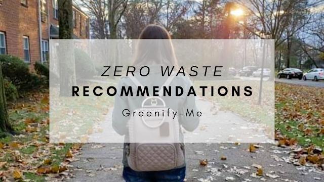 zero waste recommendations