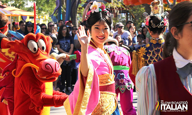Mulan Disneyland Lunar New Year