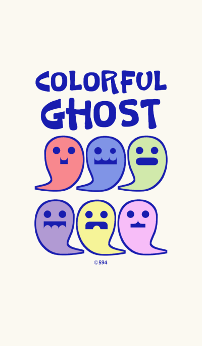 Colorful Ghost