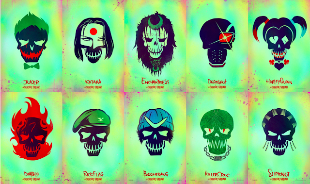 Noioda Diary: Suicide Squad Movie Characters