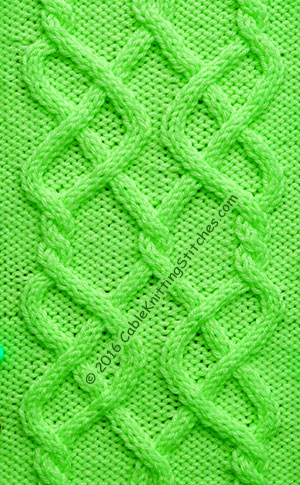 Knitting Stitch Knot : Celtic Knot 2 Cable Knitting Stitches
