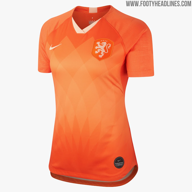 9899a83314e Netherlands 2019 Women's World Cup Home Kit Revealed - Footy Headlines