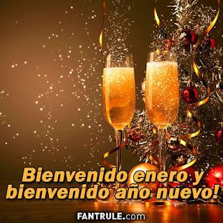 imagenes bienvenido enero frases año nuevo bendiciones