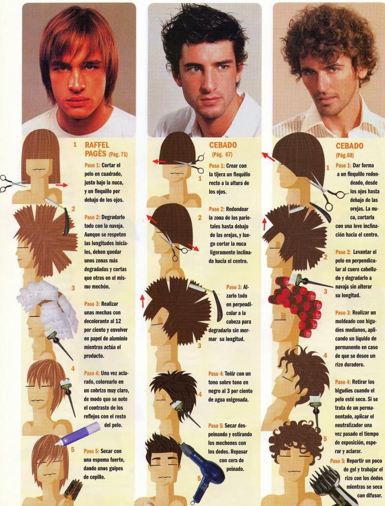 Algunas fotos mas de cortes de pelo paso a paso bella en casa - Cortar el pelo en casa hombre ...