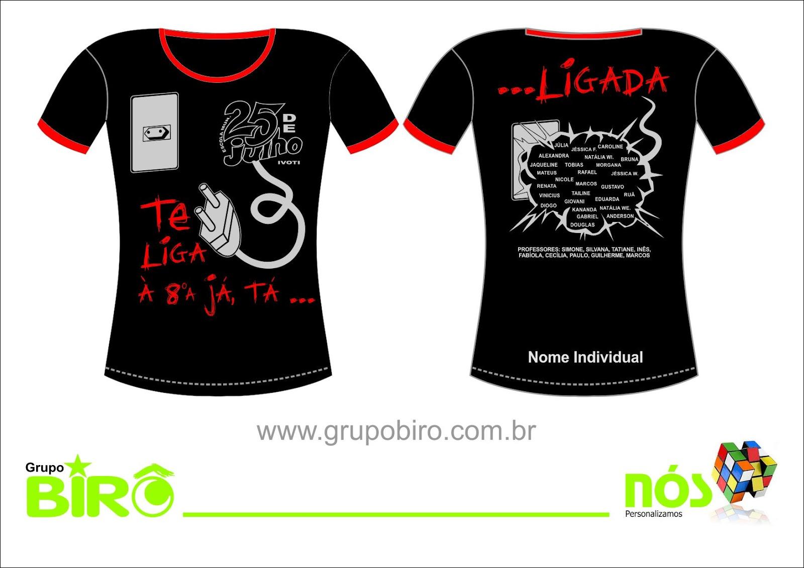 Camiseta da Turma  2012 07e4a96c425