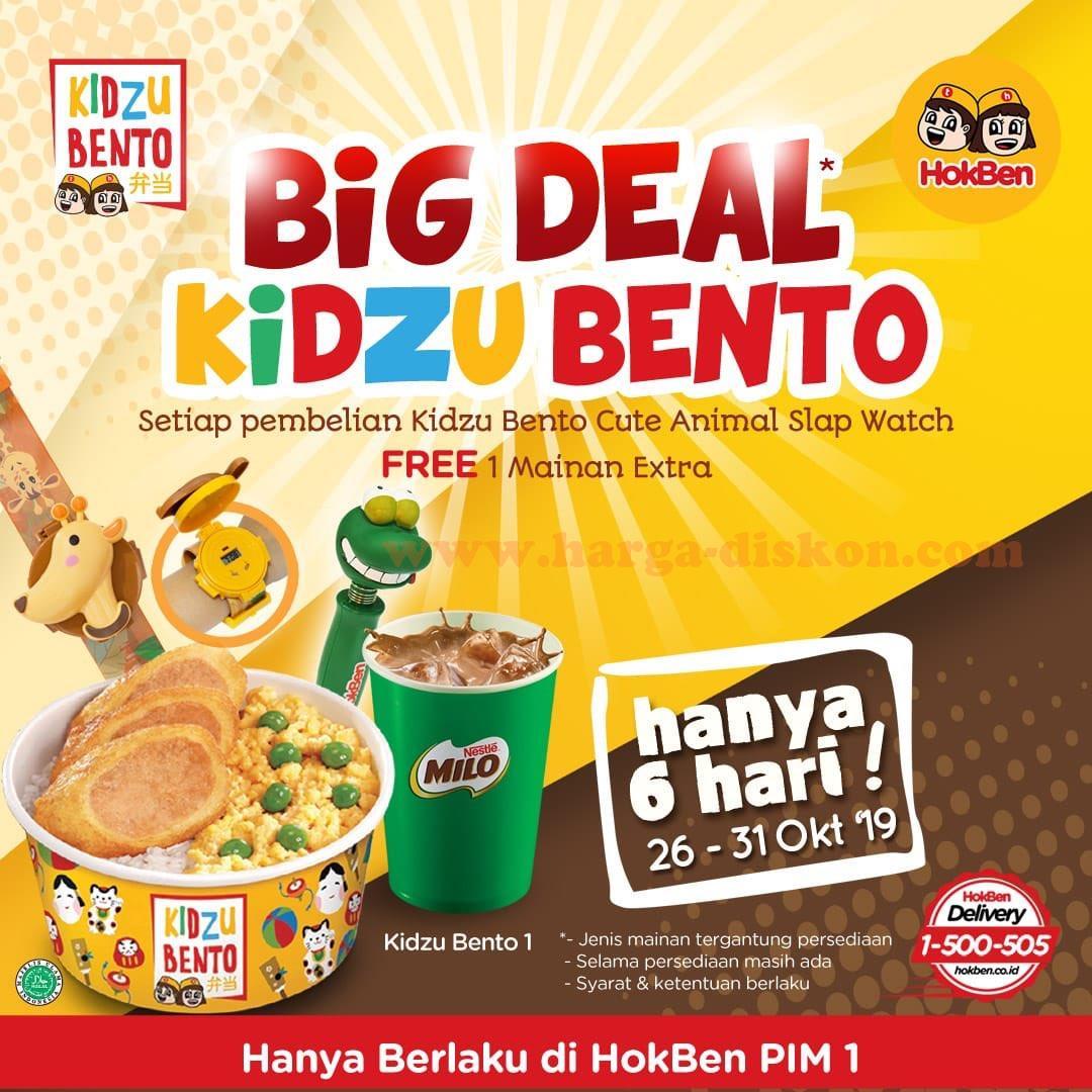 Promo Hokben Terbaru Big Deal Kidzu Bento Periode 26 31 Oktober