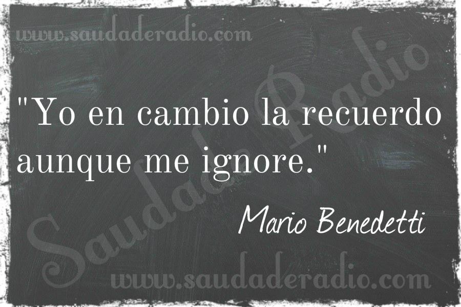 Ausencias Mario Benedetti