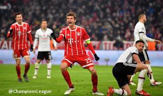 Bayern Munich vs Besiktas 5-0 Video Gol & Highlights