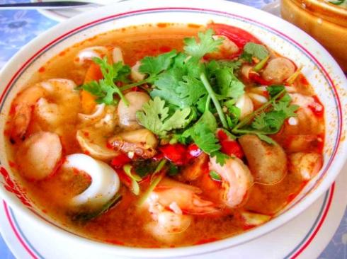 Resep Cara Membuat Tom yam Seafood Thailand Beserta Bumbu Tom Yam