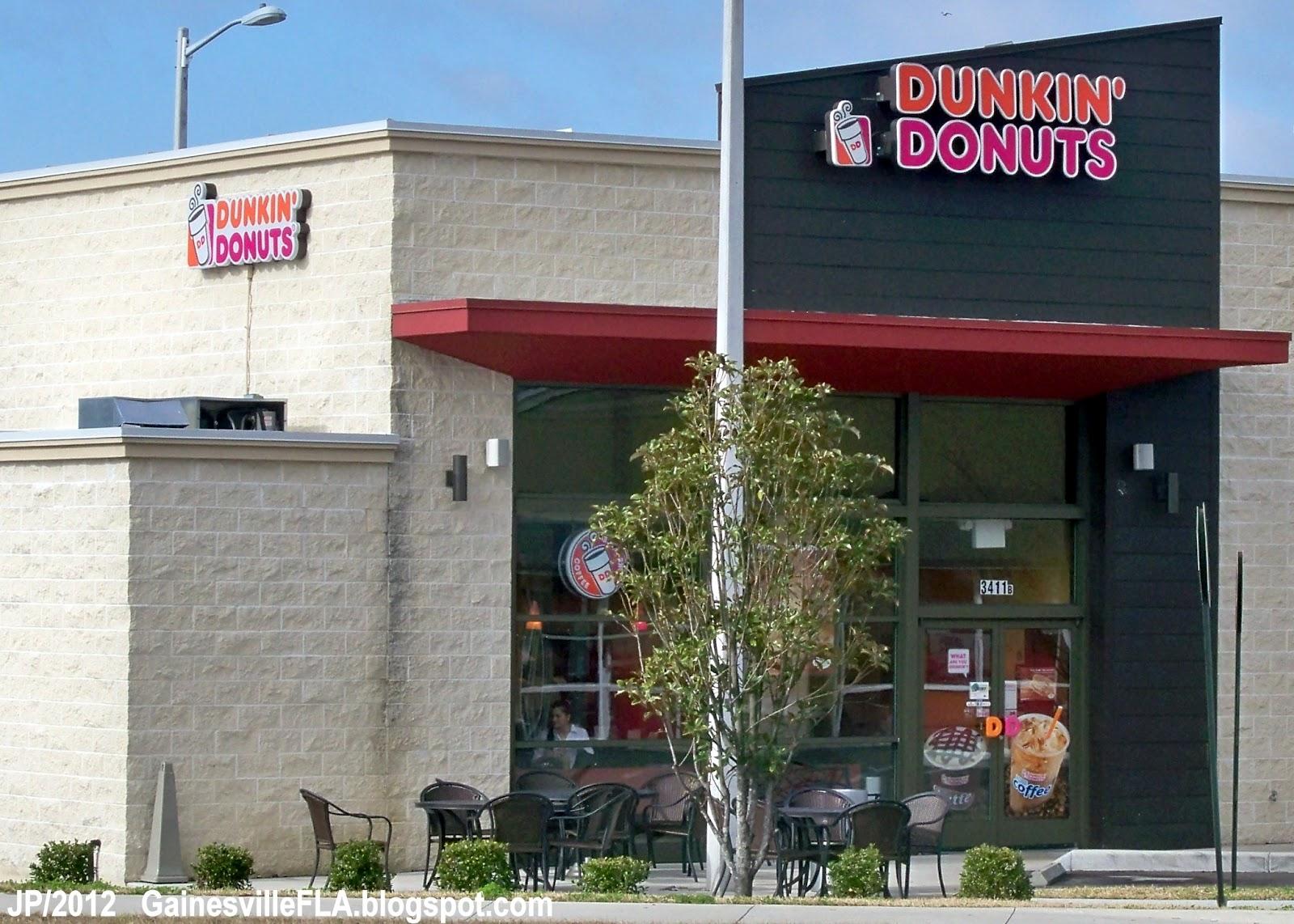 Dunkin Donuts Gainesville Florida Sw Archer Road Coffee Alachua County Fl Doughnuts