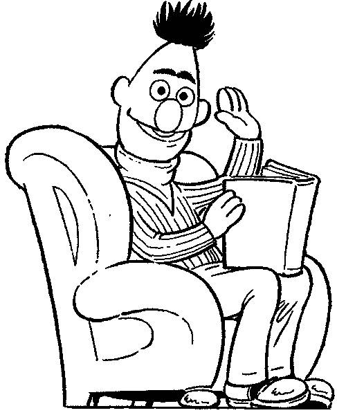 bert coloring pages - photo#17