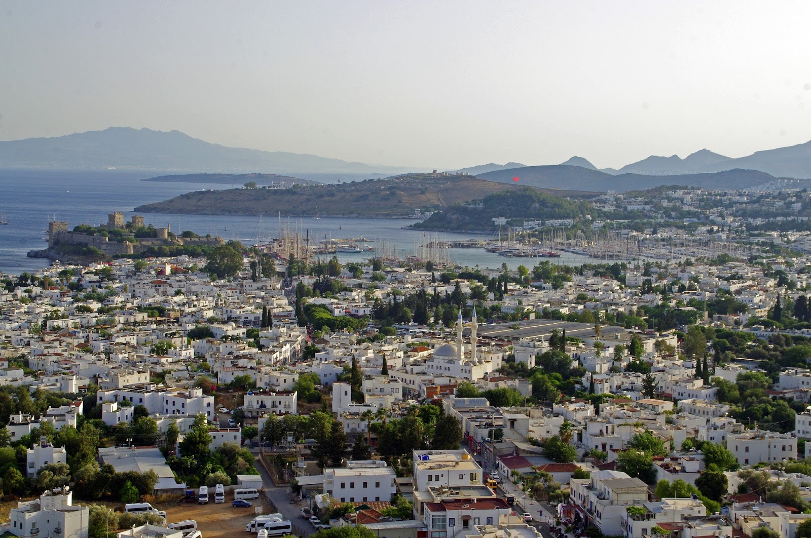 Views of Bodrum from The Marmara Bodrum