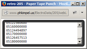 205 Paper-Tape High-Speed Punch