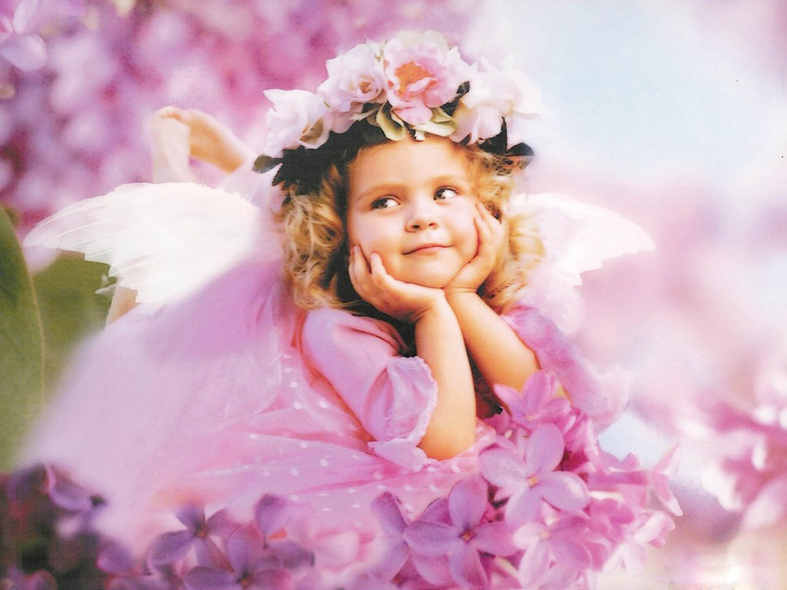 Wallpapers angel babies wallpapers for Belle photo hd