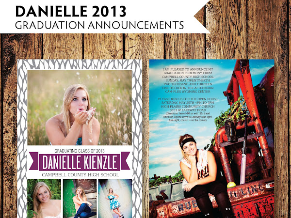 Danielle 2013 - Graduation Announcements