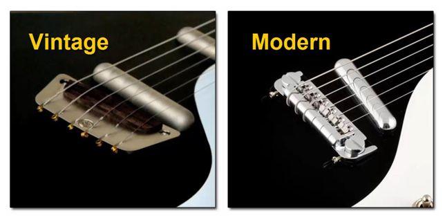 Diferentes Puentes de las Guitarras Danelectro (Vintage - Modern)