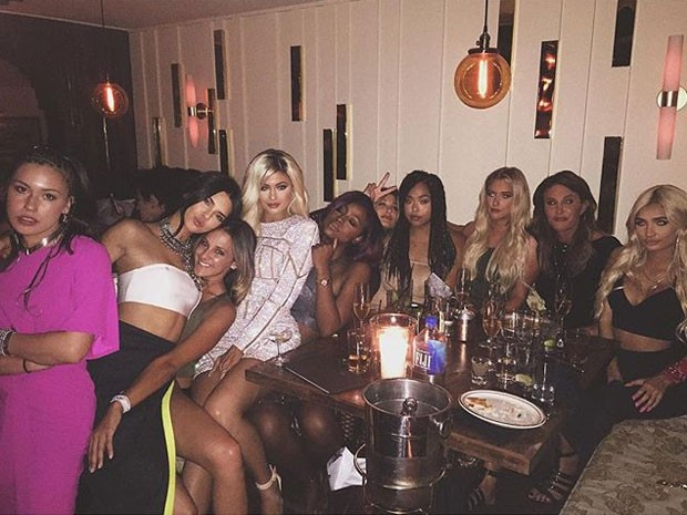 Kylie Jenner celebrates birthday with her father and sisters: ' my girls '