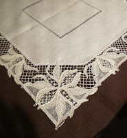 Hand-made lace from Burano