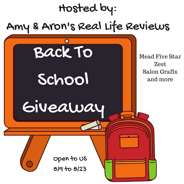 Blogger Opp: Back to School Giveaway